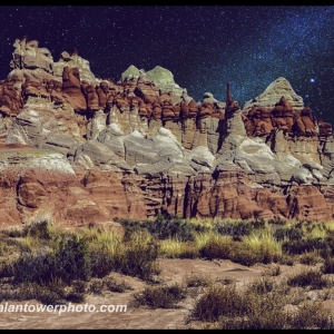 Blue Canyon Milky Way