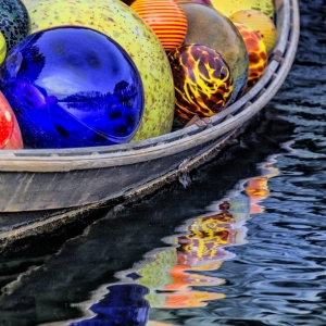 Boat and balls