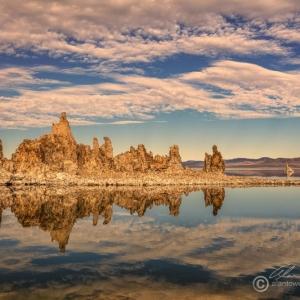 Mono Lake warm light