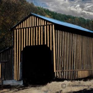 Striped barn
