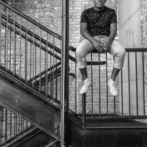 Stairs b&w