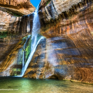 Calf Creek from side