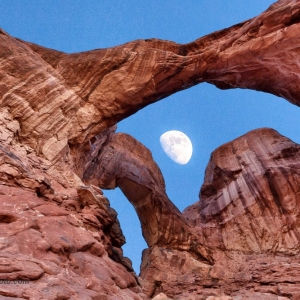 Double Arch Moon