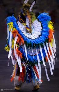 www.alantowerphoto.com Spokane Photographer Alan Tower Photo of Native American in Dance costume
