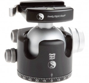 This is the 55 mm Really Right Stuff Ball Head (photo thanks to RRS).