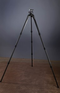"""This tripod is tall enough to be quite comfortable for anyone up to 6'1"""", if they use a battery grip and RRS head or equal height head."""