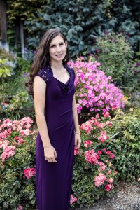The purple was a great outfit as well. Shown here combined with the roses and Bubblegum Pink petunias.