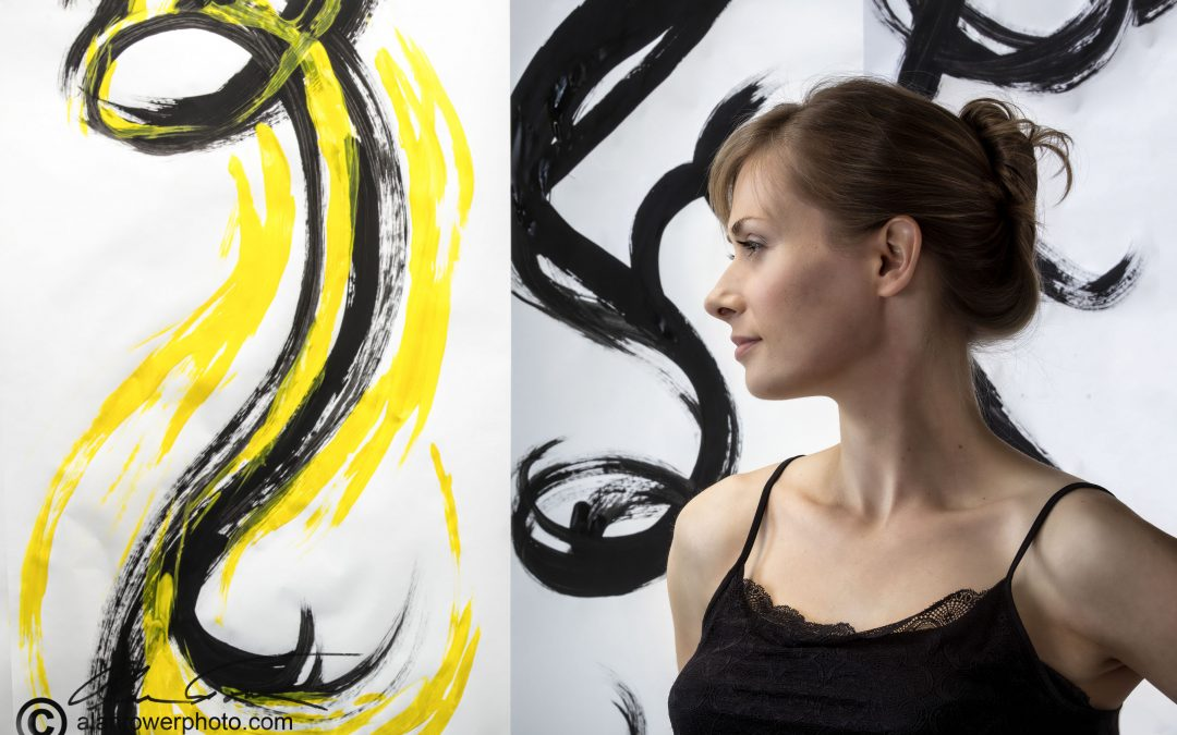 An Artistic Shoot:  Painting and Photography