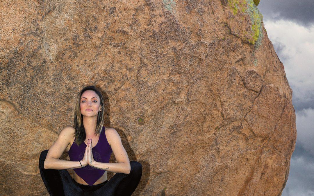 Yoga shoot with Rachel Rose